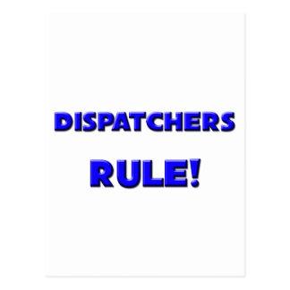 Dispatchers Rule! Postcard