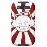 Disperse-L (Red) Galaxy Case Galaxy S3 Covers