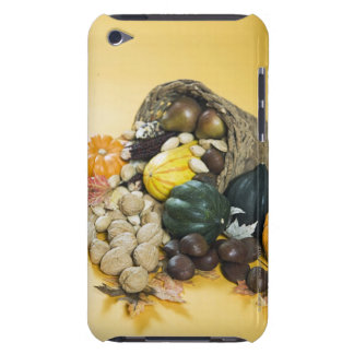 Display of autumn gourds in basket iPod touch cases