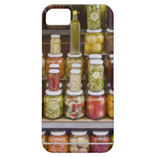 Display of pickled fruits and vegetables. barely there iPhone 5 case