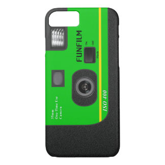 Disposable Camera - I6 Green iPhone 7 Case