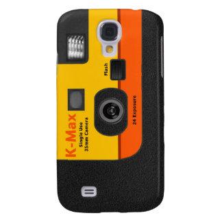 Disposable Camera - S4 Orange Galaxy S4 Case