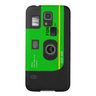 Disposable Camera - S5 Green Galaxy S5 Cover
