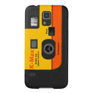Disposable Camera - S5 Orange Case For Galaxy S5