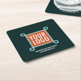 Disposable Square Paper Coaster for Restaurant Bar