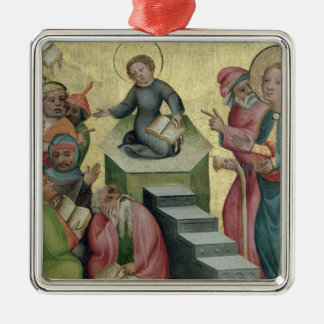 Dispute with the Doctors, 1400/10 Christmas Ornament