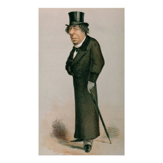Disraeli, Benjamin Poster