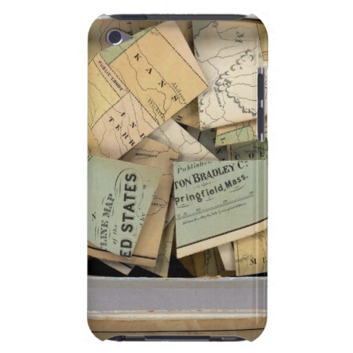 Dissected Outline Map, United States of America iPod Touch Cases