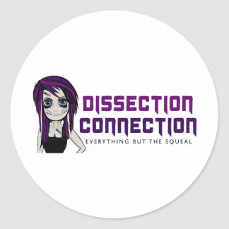 Dissection Connection Classic Round Sticker