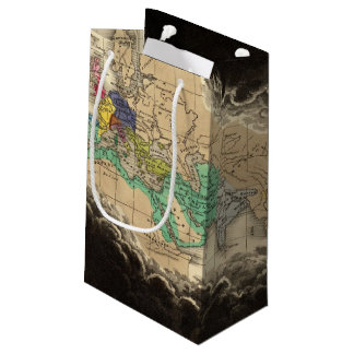 Dissolution of The Empire of Charlemagne 912 AD Small Gift Bag