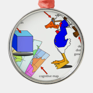 Dissonant Duck Christmas Ornament