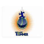 DISTANCE RUNNER PRODUCTS POST CARD