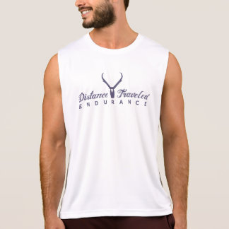 Distance Traveled Logo Men's Performance Tank Top