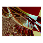 Distant Angle To Trap Fractal Art Postcards