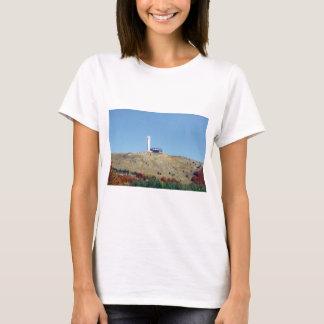 Distant Buzludzha, Balkan Mountains, Bulgaria T-Shirt