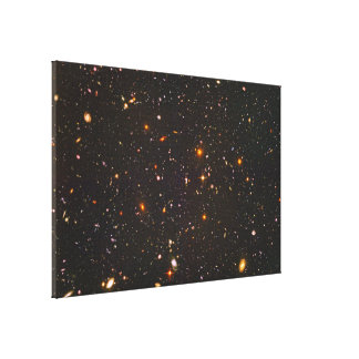 Distant Galaxy Stretched Canvas Prints