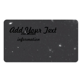 Distant Galaxy Clusters Business Cards