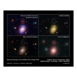 Distant Galaxy in the Hubble Ultra Deep Field Poster