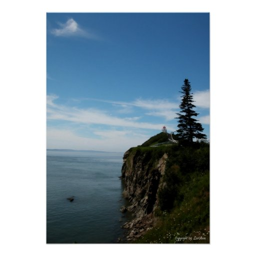 Distant Lighthouse Print