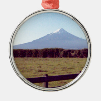 distant mountain.jpg christmas ornament