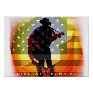 Distant Sonrise Concert Poster
