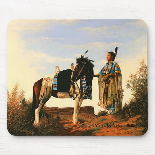 DISTANT VOICES by Barbara Sullivan - Mousepad