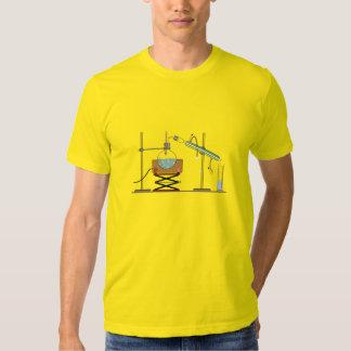 Distillation, Chemistry Design Blue Print T-Shirt