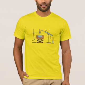 Distillation, Chemistry Design Blue Print T-Shirt