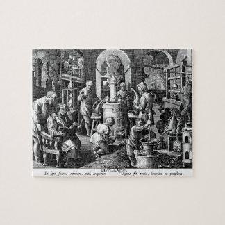 Distillation in an Alchemy Lab Jigsaw Puzzles