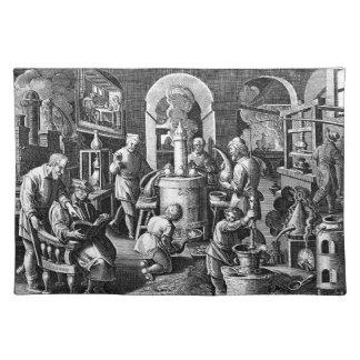 Distillation in an Alchemy Lab Placemat