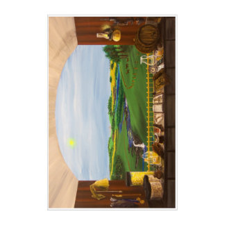 Distillers Window - 24x36 Acrylic Wall Art