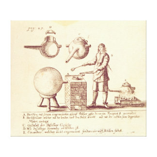 Distilling Equipment Stretched Canvas Prints
