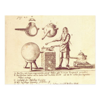 Distilling Equipment Postcard