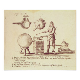 Distilling Equipment Poster