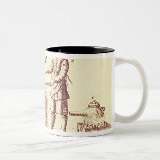 Distilling Equipment Two-Tone Coffee Mug