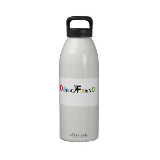 DistinctFriend Accesories Water Bottle