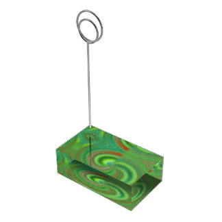 Distinctive Abstract pattern Table Number Holder