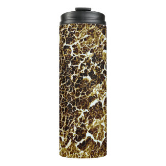 Distinctive Abstract Texture Thermal Tumbler