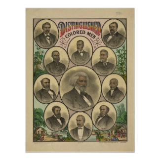 Distinguished Colored Men Frederick Douglass Print