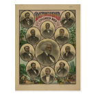 Distinguished Coloured Men Frederick Douglass 1883 Postcard