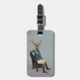 Distinguished Deer Full 3 Luggage Tag