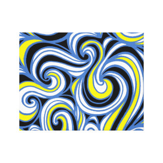 Distinguished Forceful Energized Engaging Gallery Wrapped Canvas