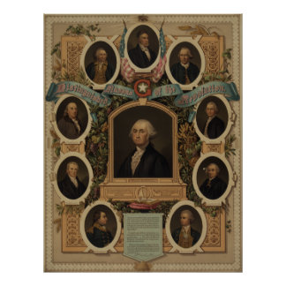 Distinguished Masons of the Revolution [?] Poster