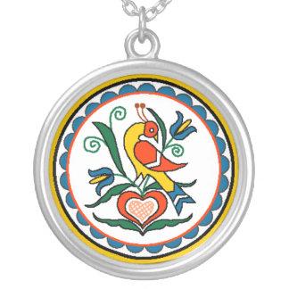 Distlefink (yellow) - necklace