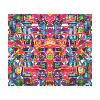 Distorted Ambience Canvas Print