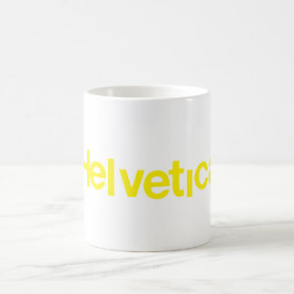 Distorted Helvetica Coffee Mug