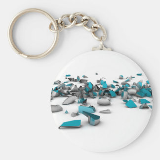 Distortion Cube Key Chains