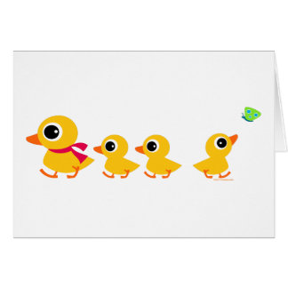 Distracted Duck Card