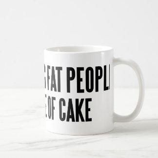 Distracting Fat People Coffee Mug