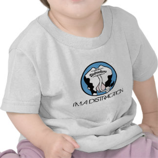 Distractions-Logo I M A DISTRACTION T Shirts